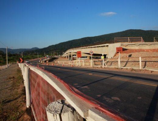 Obras do Contorno Viário de Florianópolis