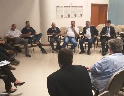 Reunião sobre greve