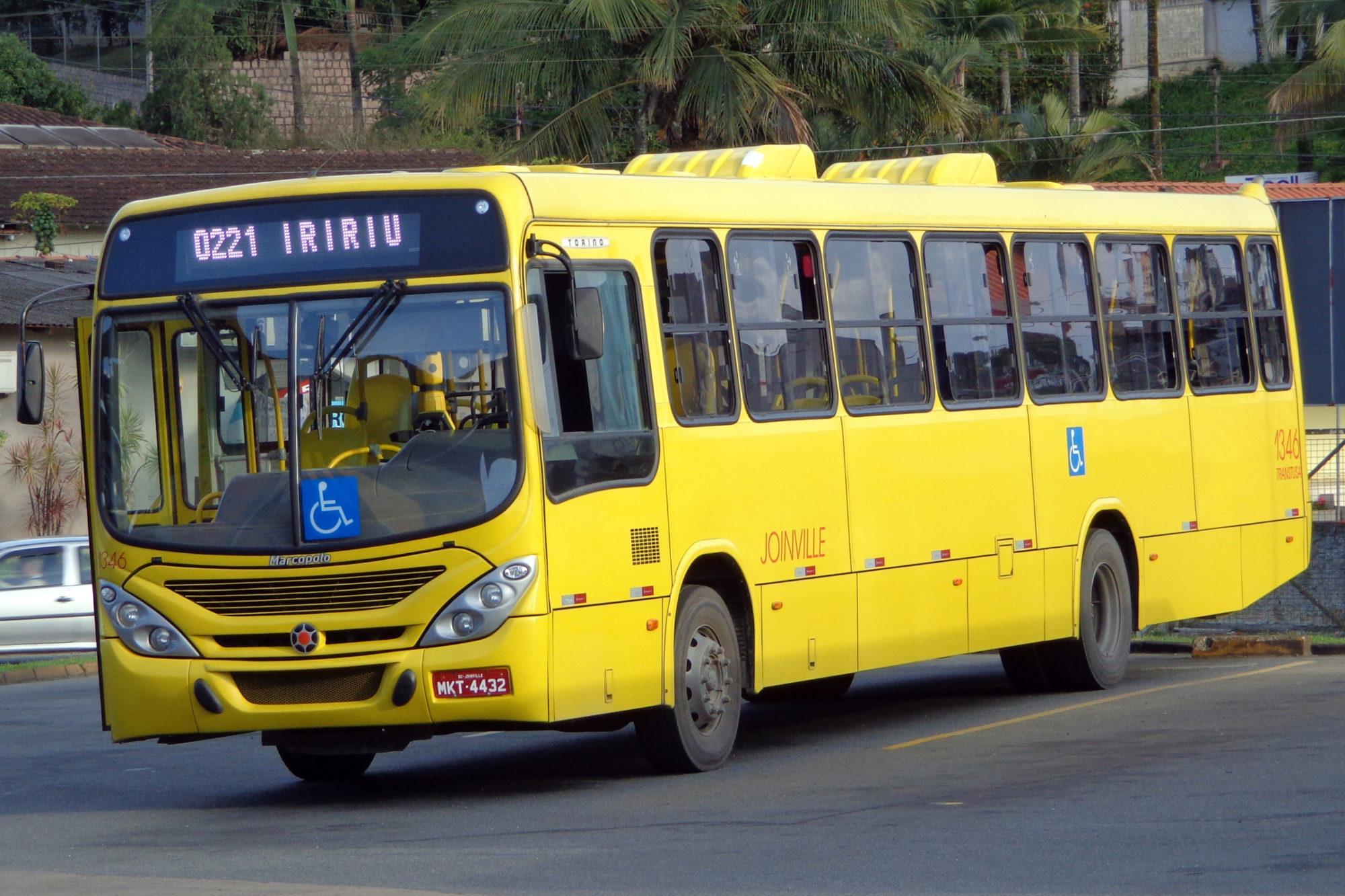 Ônibus em Joinville