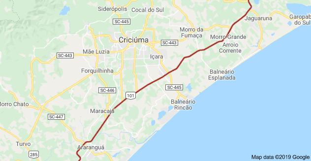 BR-101 Criciúma