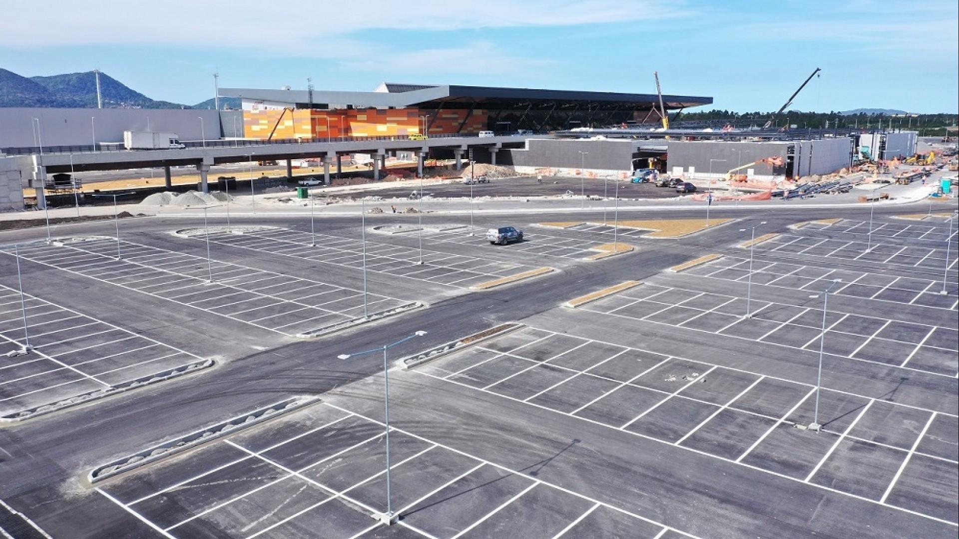 Estacionamento do Aeroporto de Florianópolis