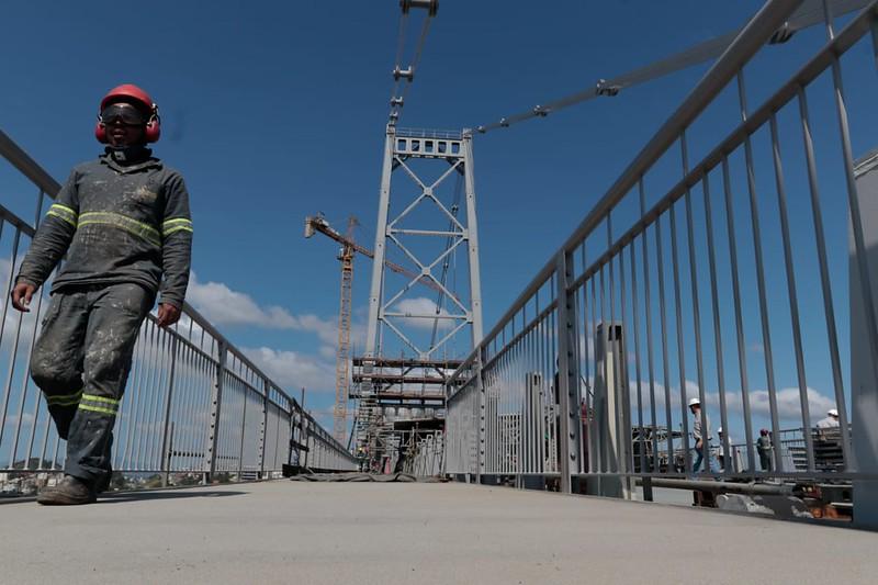 Obras Ponte Hercílio Luz