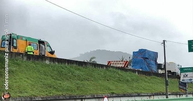 Acidente em Biguaçu