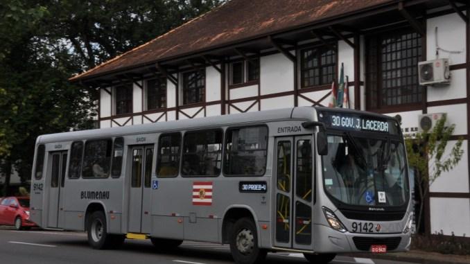 Greve ônibus Blumenau